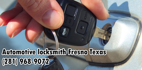 Automotive locksmith Fresno Texas